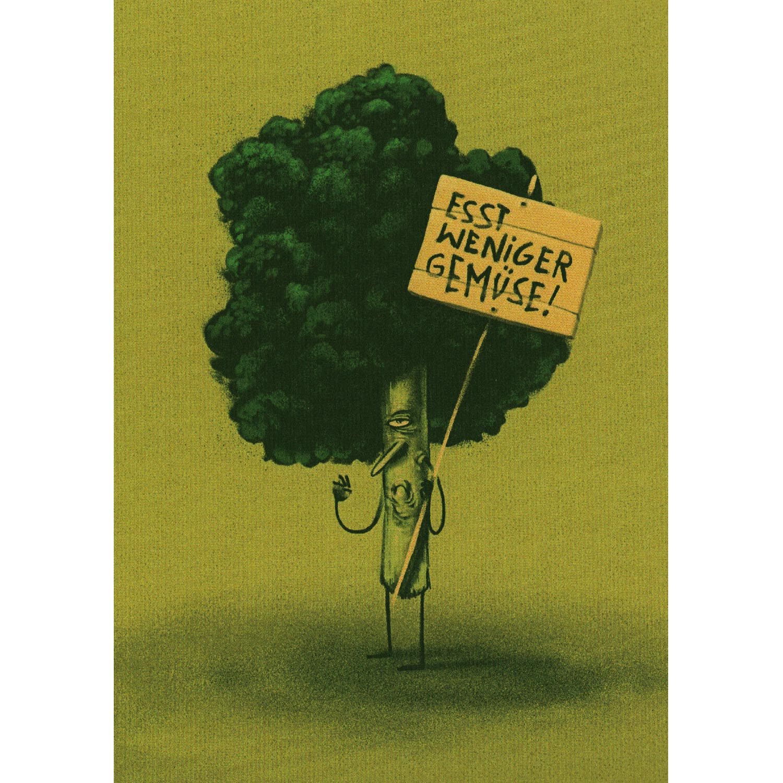 Besorgtes Gemüse