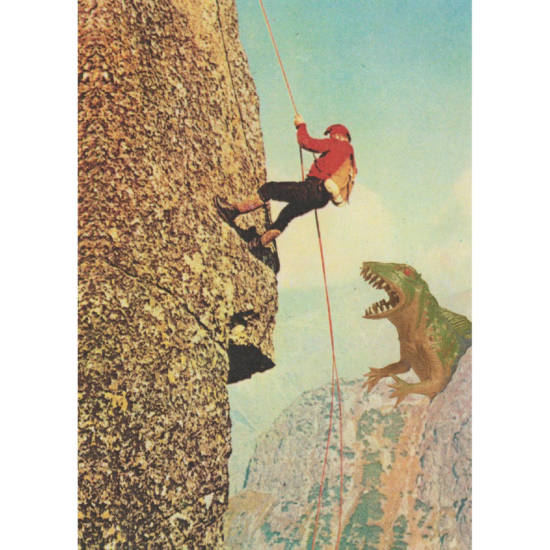 Bergsteiger Postkarte