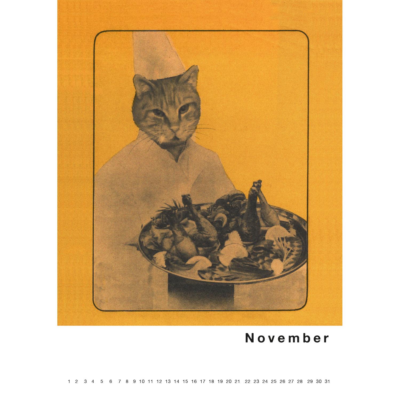 Immerwährender Kalender Streuner