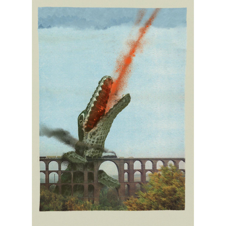 Göltschtalbrücke Postkarte