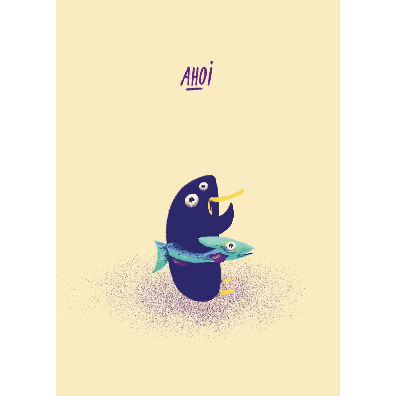Ahoi Postkarte