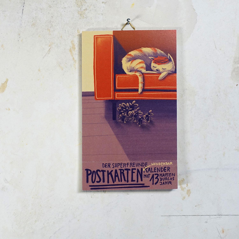 Superpostkartenkalender N#4