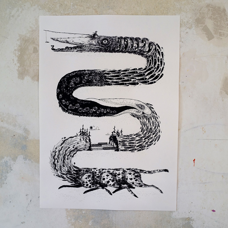 Das schwarze Band / Gepard