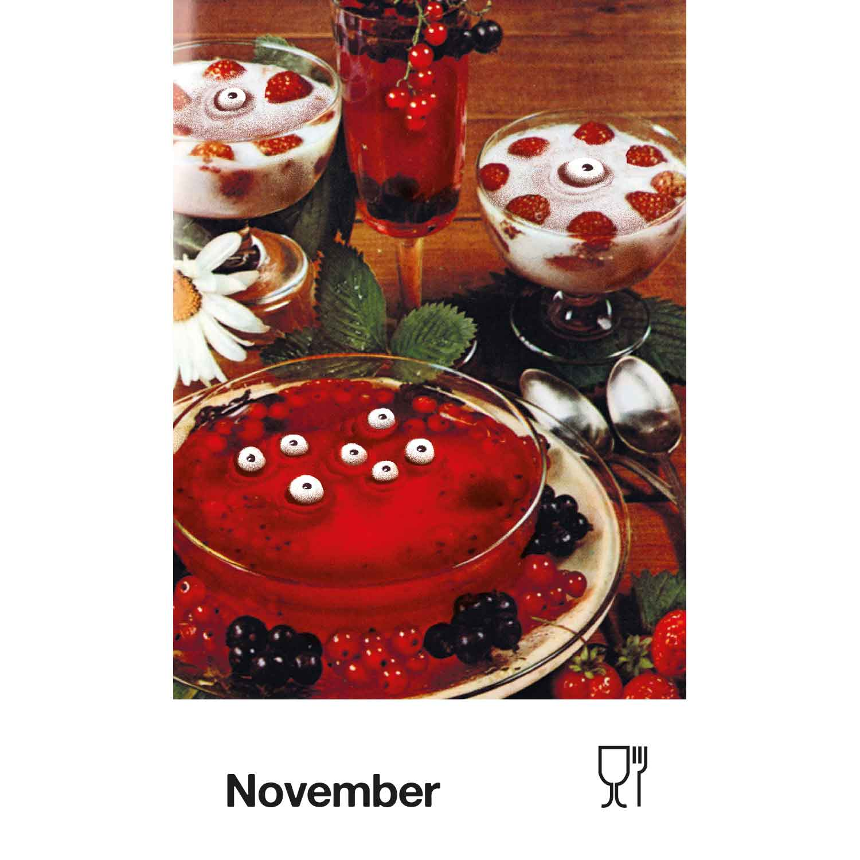 Du bist was du isst Postkartenkalender