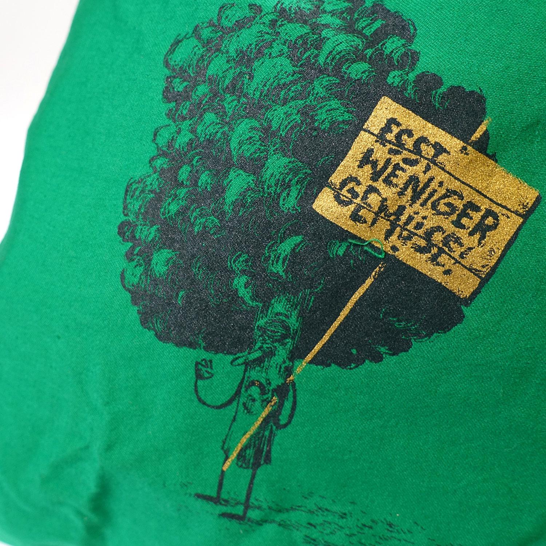 Besorgtes Gemüse Beutel Pur Grün