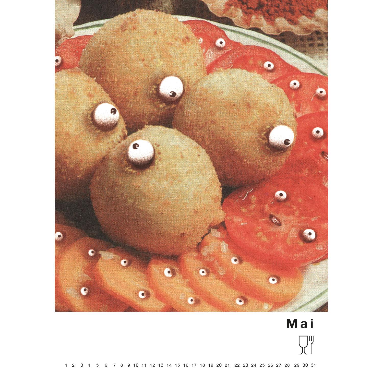 Immerwährender Kalender du bist was du Isst